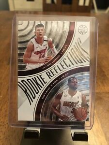 2019-20 Illusions Basketball ROOKIE REFLECTIONS #17 Tyler Herro / Dwyane Wade