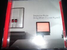 Depeche Mode Only When I Lose Myself Rare Australian CD Single MUSH01781.5