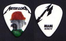 Metallica James Hetfield Miami 7/07/17 Guitar Pick - 2017 WorldWired Tour