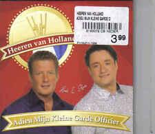 Heeren Van Holland-Adieu Mijn Kleine Garde Officier cd single