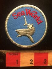 Orlando Florida (& Other Locales) Sea World SeaWorld Theme Park Shark Patch 81V7