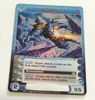 Chaotic Card Super Rare Blugon Winter Warrior Tcg