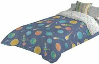 Bettbezug für Kinder Mit Planeten, Sterne, Raketen 180x270 CM + Bezug Kissen