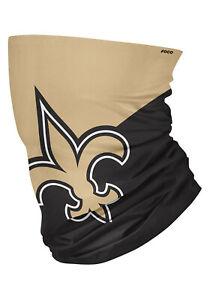 NFL New Orleans Saints Neck Gaiter Multi use-Unisex-Adult size