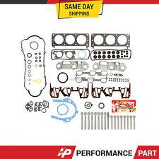 Upgraded Full Gasket Set Head Bolts for 99-03 Pontiac Buick Chevrolet Lumina 3.4