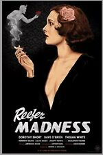 Reefer Madness 85th Anniversary Poster Grey Smoke Variant #/35 Timothy Pittides