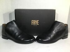 Frye Womens Size 8 Elyssa Black Leather Slip On Shooties Shoes Boots ZB-29