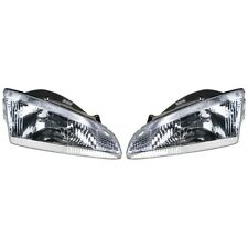 1995 1996 1997 Dodge Intrepid Headlights Headlamps Lights Lamps Pair (Fits: Dodge Intrepid)
