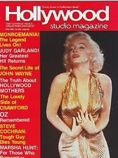 AUG 1983 HOLLYWOOD STUDIO vintage movie magazine - MARILYN MONROE