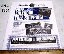 Radio Spirits Catalog - October 2006