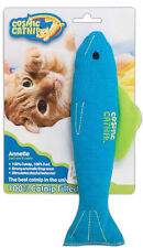 COSMIC OURPETS 100% CATNIP FILLED ANNETTE FISH CAT TOY FREE SHIPPING IN THE USA