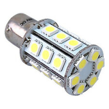 HQRP BA15s 24 LEDs SMD 5050 Cool White 3W LED Bulb for #93 382 1141 1156