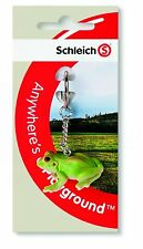 FROG KEY CHAIN RARE ITEM  by SCHLEICH LITTLE PETS FARM & HORSE NEW iTEM K14407