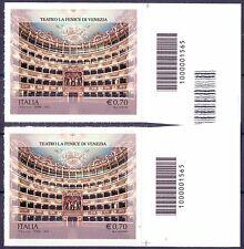 """2013 Teatro """"La Fenice"""" di Venezia - Italia - codici a barre 1565 non fustellati"""