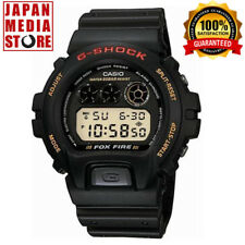 CASIO G-SHOCK DW-6900B-9 STANDARD BASIC FOX FIRE Chrono Watch 100% Genuine