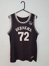 Vintage Retro para hombre usa brillante audaz Deportes Atléticos Baloncesto Camiseta Top en muy buen estado Reino Unido M