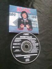 AC/DC MONEYTALKS CD RARE ACDC AUSTRALIA 656500 2  ALBERT PRODUCTIONS ANGUS OOP