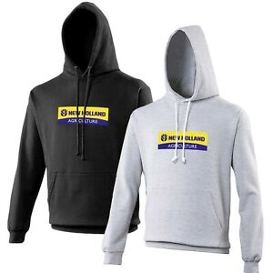 New Holland Hoodie Tractor Enthusiast Farming VARIOUS SIZES & COLOURS