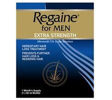 Regaine For Men Extra Strength Solution 5% Minoxidil Concentration 1 x 60ml