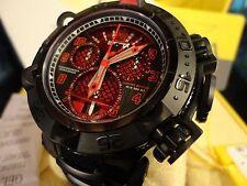 Invicta 22285 Reserve 50mm JT Red/Bl Subaqua Noma V Lt Ed Swiss Strap Watch NEW!