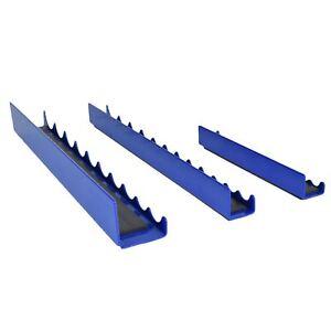 3pcs Magnetic Strip Rail Socket Holder Storage Tray 1/4 3/8 and 1/2 Sockets