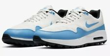 Nike Air Max 1G Golf Shoes - 2020 - Summit White/Blue - UK 9.5 new  - RRP £100