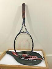New listing Vtg Wilson Graphite Matrix Original Midsize Tennis Racquet, Grip Size 4-1/4