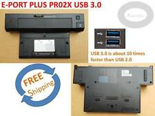 Genuine Dell PR02X E-Port Plus USB 3.0 Docking Station, 35RXK, PKDGR.