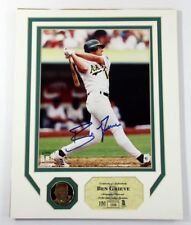 Ben Grieve Signed 8x10 Photo Coin Highland Mint Matted Display Auto DF026151