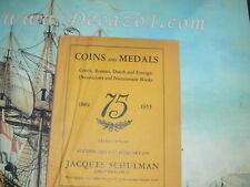 Schulman, Jacques. Amsterdam. 1955-02 (225) - 75th Aniversary auction. 1880-1955