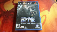 PETER JACKSON'S KING KONG PLAYSTATION 2 PS2 NEUF SCELLÉ