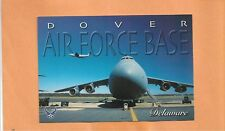 DOVER AIR FORCE BASE DELAWARE C-5 WING POSTCARD