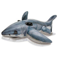 INTEX Great White Shark | Pool Rider | Photo Realistic Inflatable Float Toy