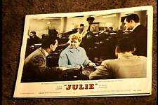 JULIE 1956 LOBBY CARD #6 DORIS DAY