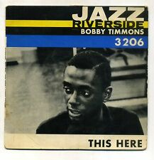 BOBBY TIMMONS : EP RIVERSIDE 3206