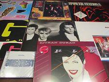 DURAN DURAN S/T RIO NOTORIOUS TIGER 12 LPS + POWER STATION ORIGINAL LP + HITS CD