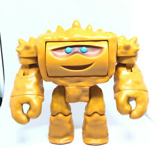 """Toy Story 3 Figure Chunk Rock Monster 5"""" Disney Two-Faced Mood Changing Mattel"""