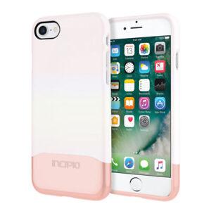Incipio Edge Case Etuis Hard Cover Case schutzhülle iPhone 7 8 weiß rose gold