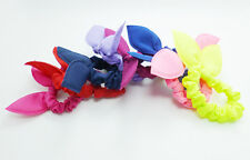 Cute Mini Bunny Ears Solid Monochrome Hair Rope Hair Accessories Bow Rubber Band