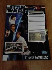 Star Wars Movie Complete 227 & Lego Sticker Album TOPPS 2012 GERMANY ALBUM