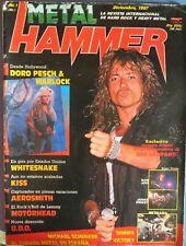 METAL HAMMER:NUM.1 !!!-WHITESNAKE-DORO PESCH & WARLOCK-KISS-UDO-KREATOR-AC/DC