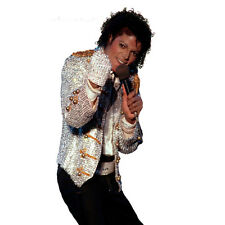 Charades ADULT Michael Jackson King of Pop DELUXE Jacket & Glove Size S