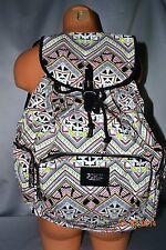 Victorias Secret Pink Aztec Chevron Backpack School Bag NWT