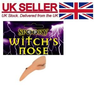 Long Witch Nose With Wart Halloween Fancy Dress The Witches Book Week Fake Kids