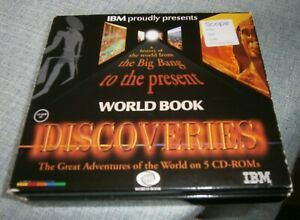 A HISTORY OF THE WORLD FROM THE BIG BANG TO THE PRESENT 5 DISC CD ROM IBM