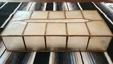 Capiz Mid-century Tissue Kleenex Box Holder