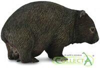 Collecta 88756 Wombat mit Jungtier 6 cm Wildtiere
