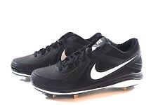 Nike MVP Pro Metal 524641 Black/White Baseball Softball Shoes Men Metal Hooks 14