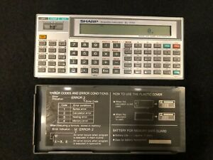 Sharp EL-5150 Scientific Calculator With Cover Tested Works! Vintage Ultra Rare!