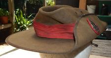 OLDEST UNIFORM Australian Military CADET Slouch HAT The Kings School 1940's